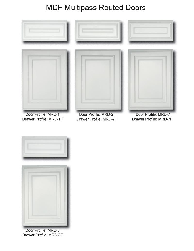 TNT Cabinet Door Details for Multipass Routed  sc 1 st  Tnt Door u0026 Drawer & Custom Cabinet Doors | TNT Door u0026 Drawer Products