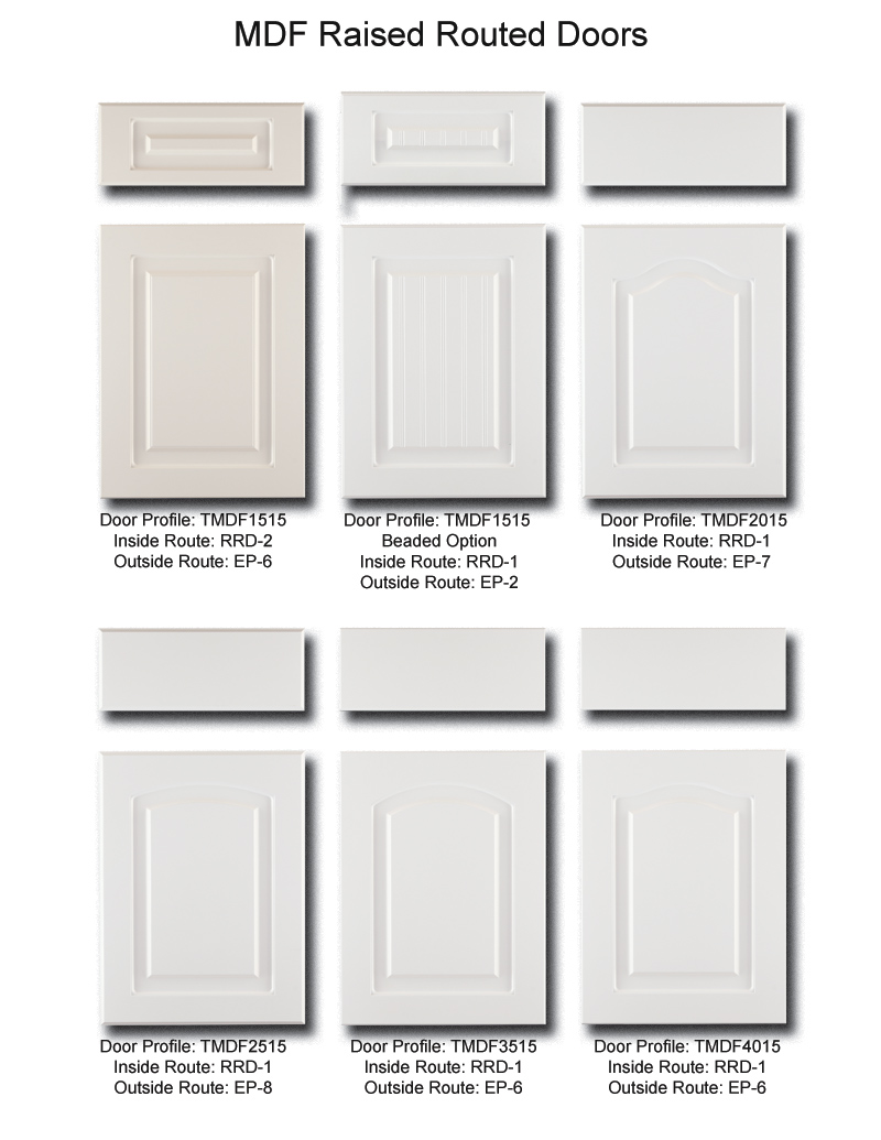 tnt cabinet door details for mdf raised routed doors