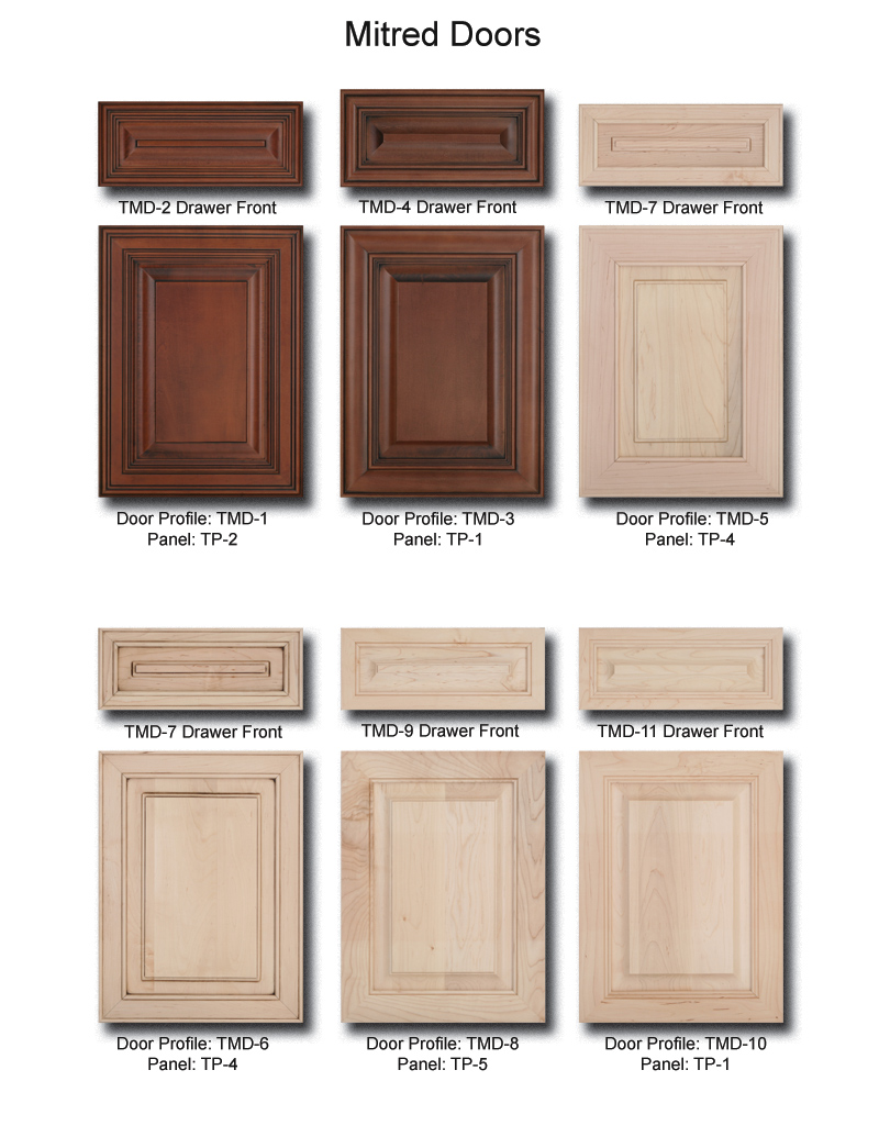 TNT Cabinet Door Details for Mitred Doors
