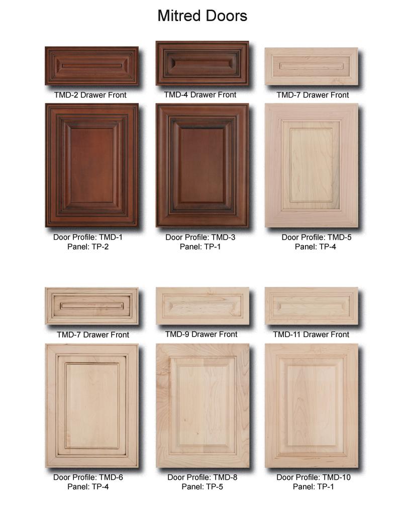 tnt cabinet door details for mitred doors