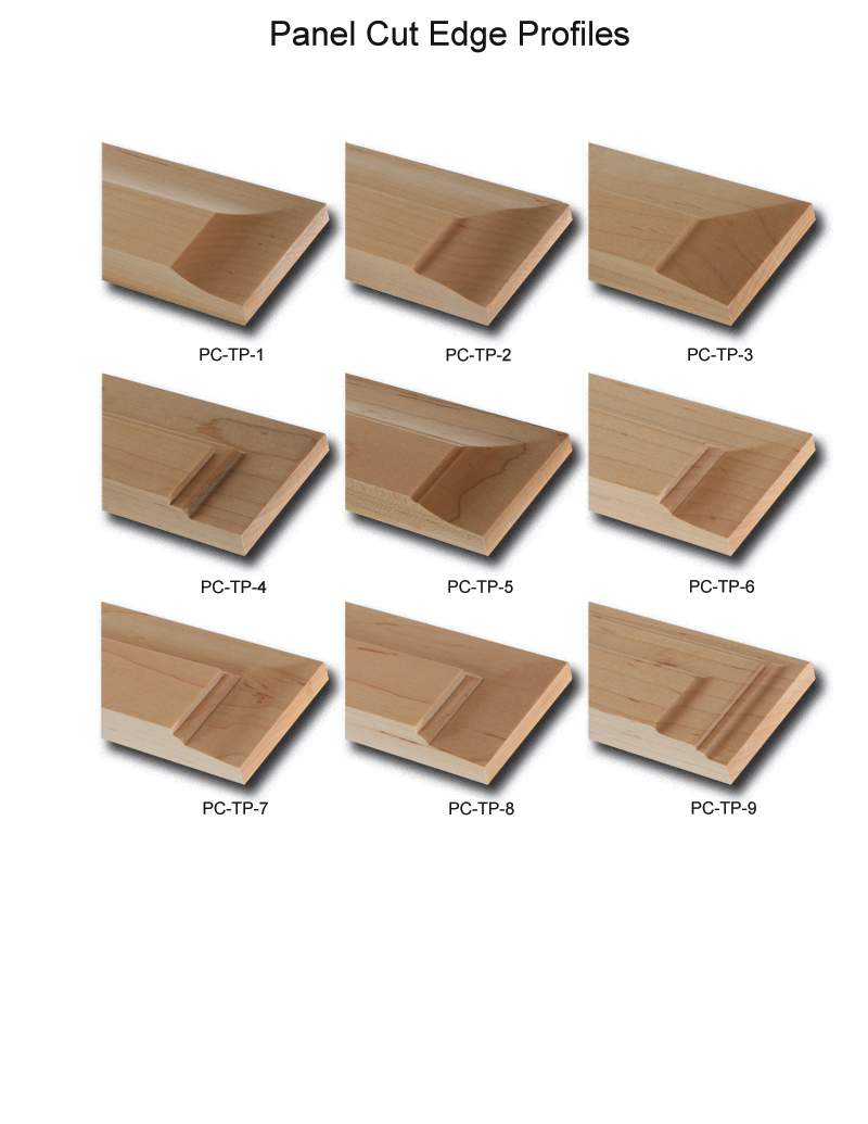 TNT Cabinet Door Details for Panel Cut